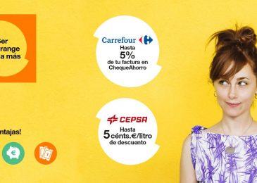 Carrefour y Cepsa, con Orange