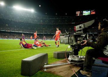 El fútbol por televisión, pero ¿dónde?