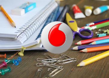vuelta al cole con Vodafone