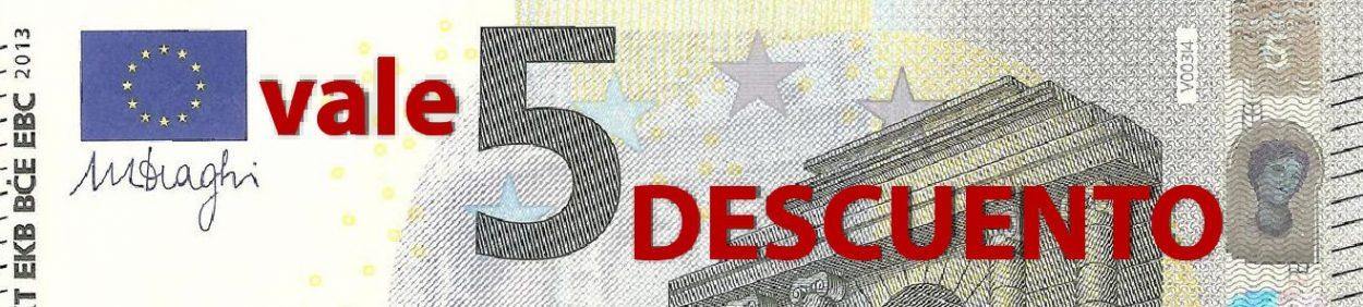 Vale 5 euros