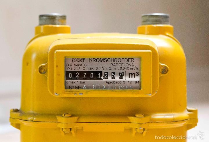 contador del gas