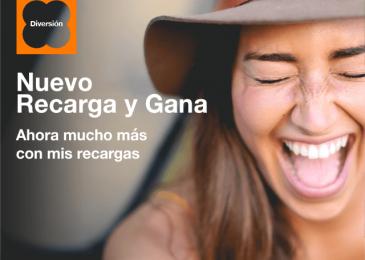 Recarga y Gana Orange