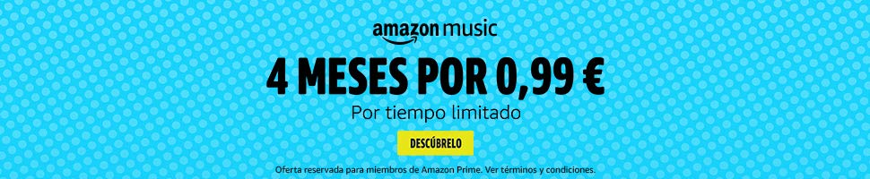 Prueba Amazon Music 4 meses