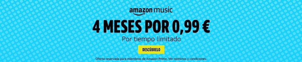 Prueba Amazon Music 4 meses